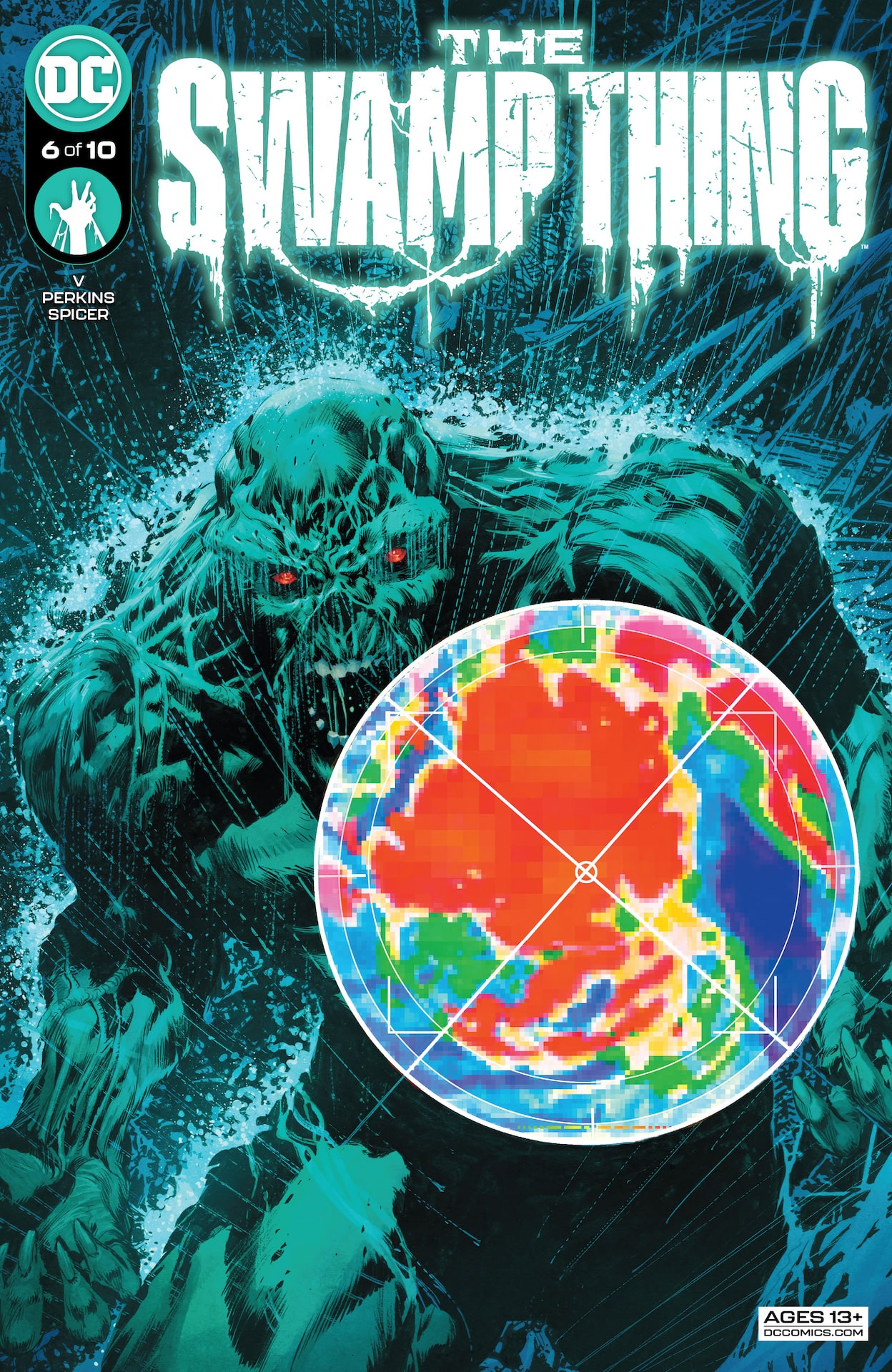 DC Preview: The Swamp Thing #6