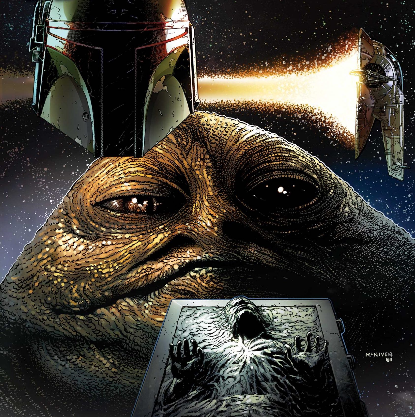 'Star Wars: War of the Bounty Hunters' #2 lights the fuse