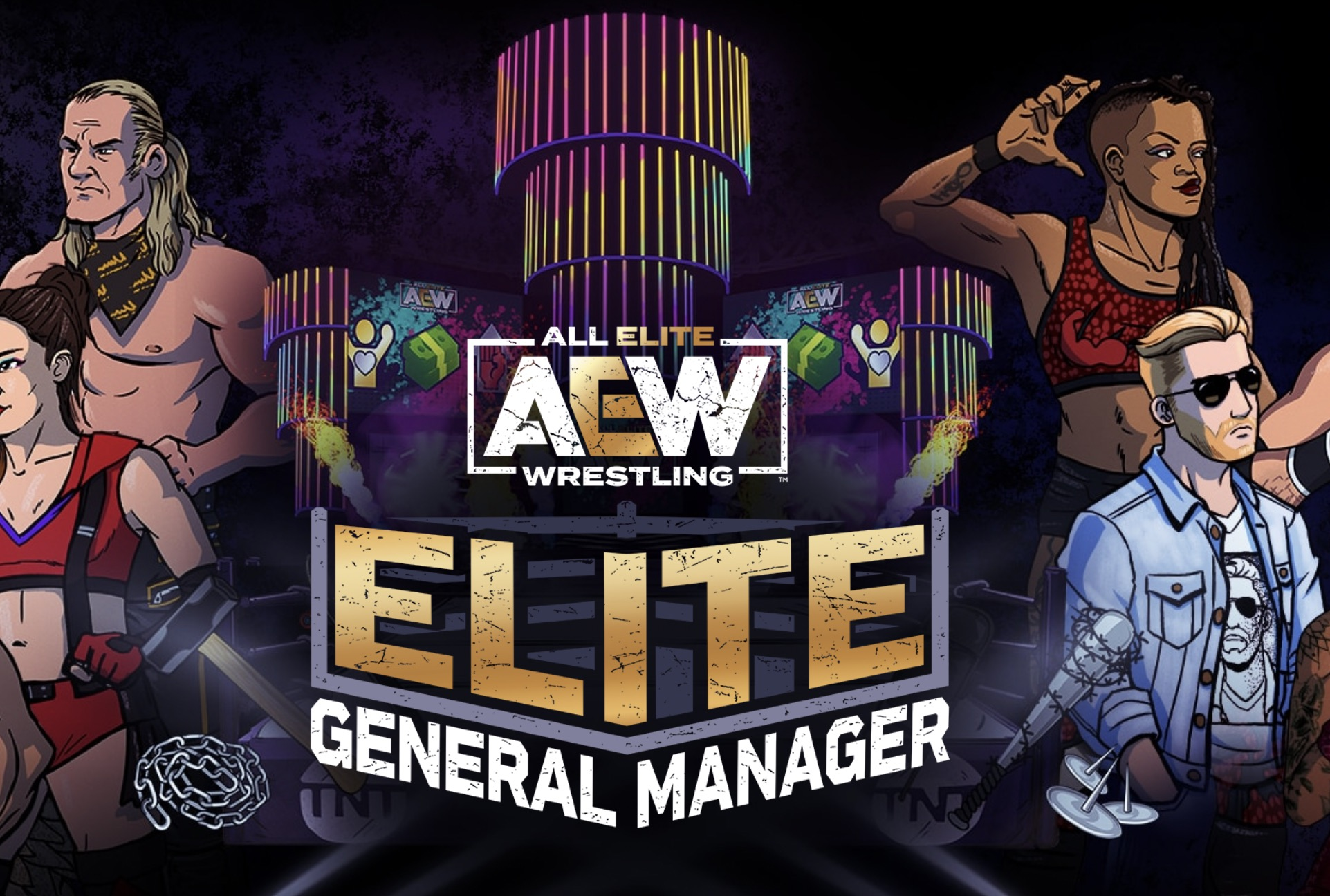 'AEW Elite General Manager' is now available on iOS and Android