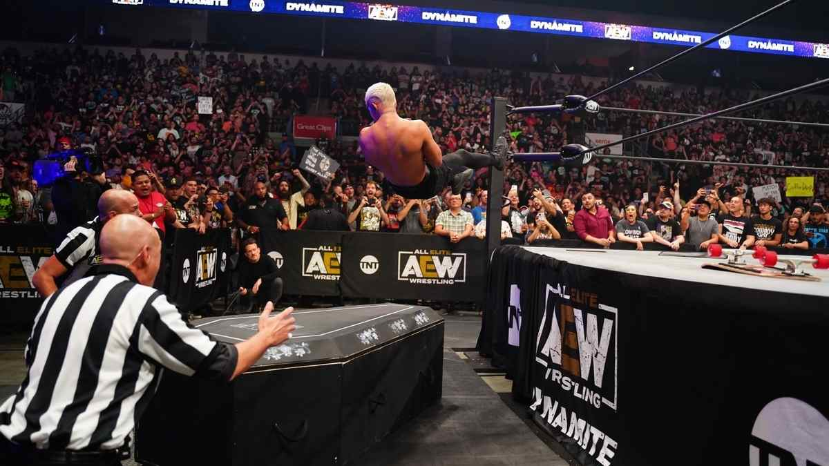 AEW 'Fyter Fest' Night 1 was almost too loaded of a show