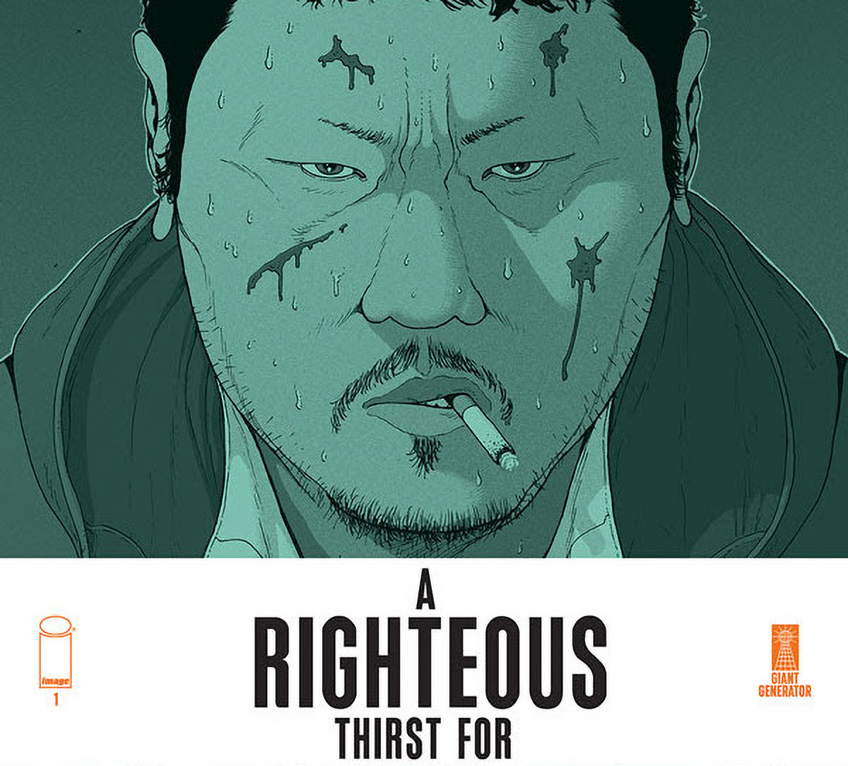 Image announces murder mystery 'A Righteous Thirst for Vengeance' #1