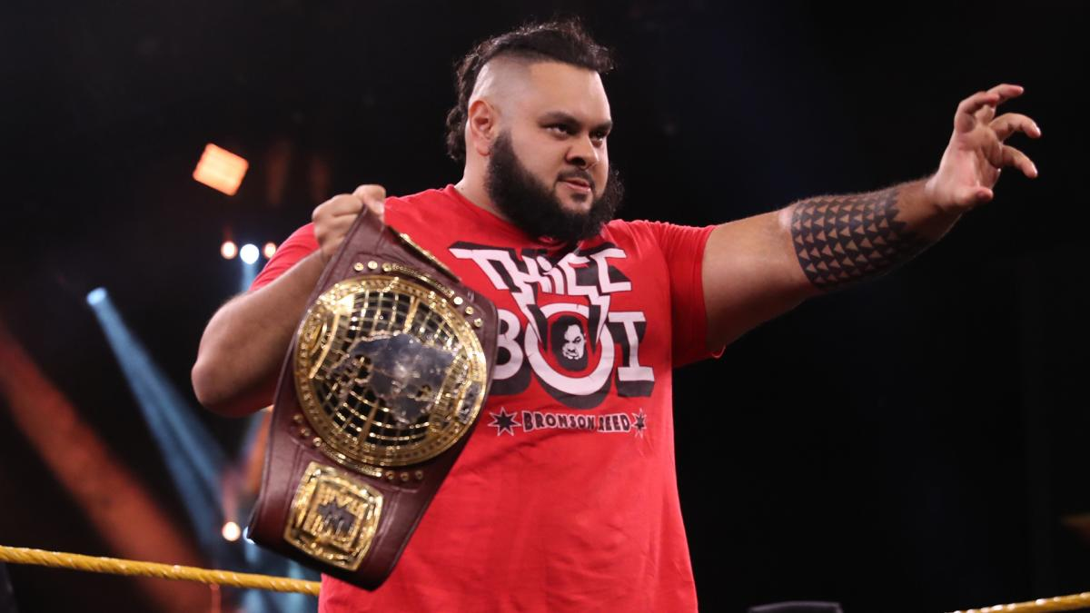 WWE releases 13 NXT Superstars including Bronson Reed, Mercedes Martinez