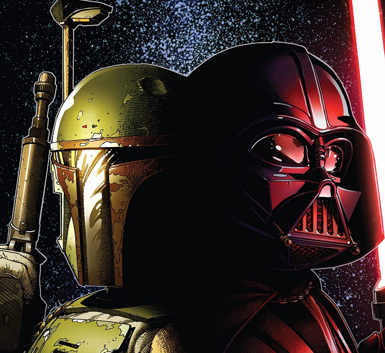 'Star Wars: War of the Bounty Hunters' #3 features an impressive amount of characters