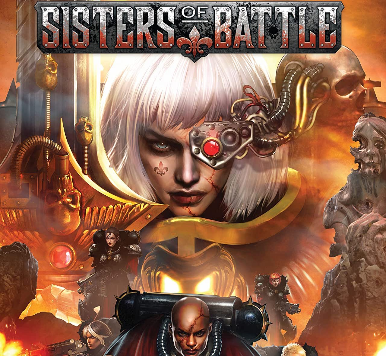 'Warhammer 40,000: Sisters of Battle' #1 drops you into a compelling battle