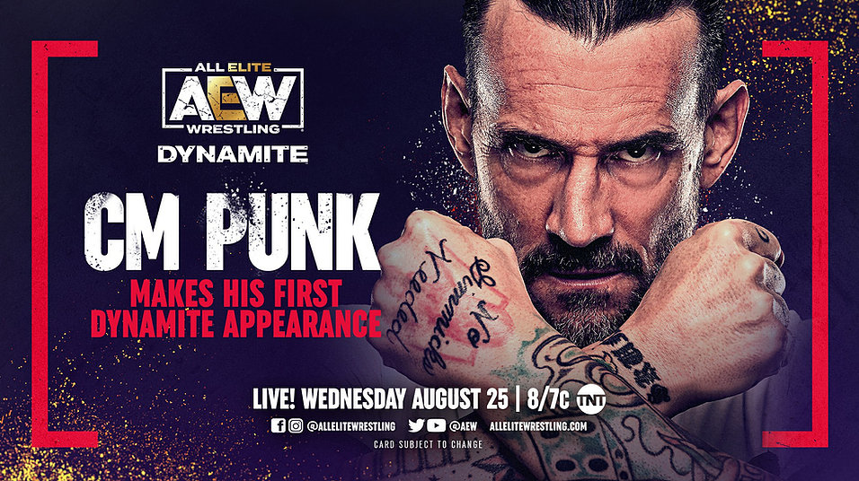 AEW Dynamite had CM Punk, and that's the whole show