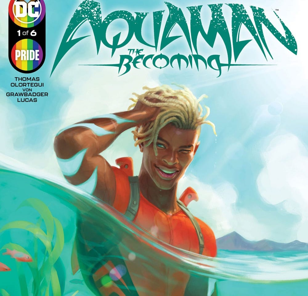 'Aquaman: The Becoming' #1 is a superhero story with pure heart