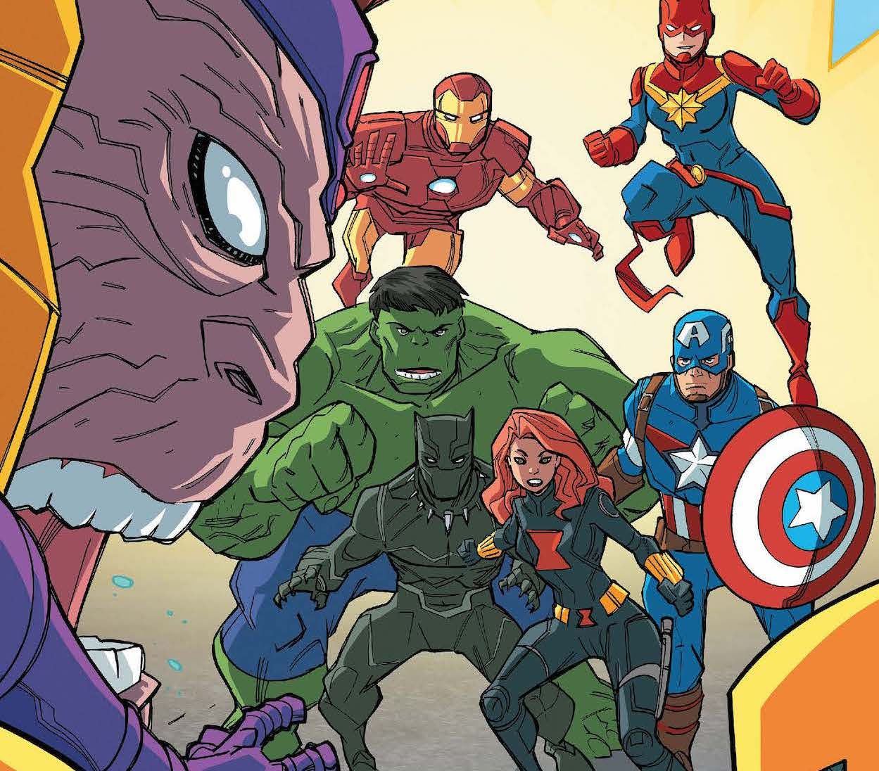 Marvel and SOMOS to distribute 20,000 comics for vaccine awareness