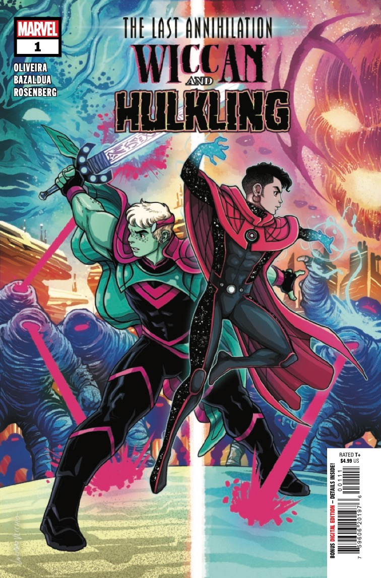 Marvel Preview: The Last Annihilation: Wiccan & Hulkling #1