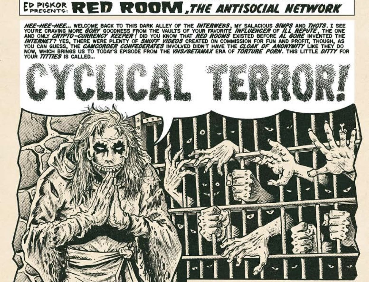 EXCLUSIVE Fantagraphics Preview: Red Room #4