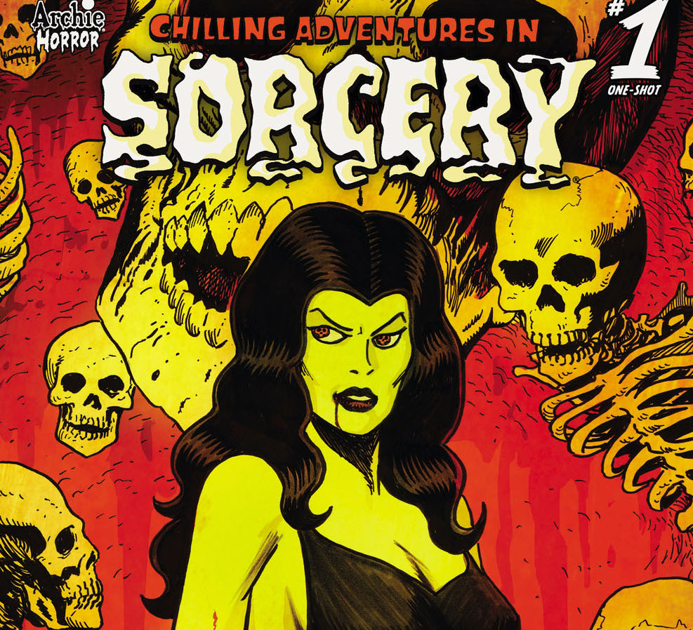 Archie Comics launching anthology 'Chilling Adventures in Sorcery' #1 in November