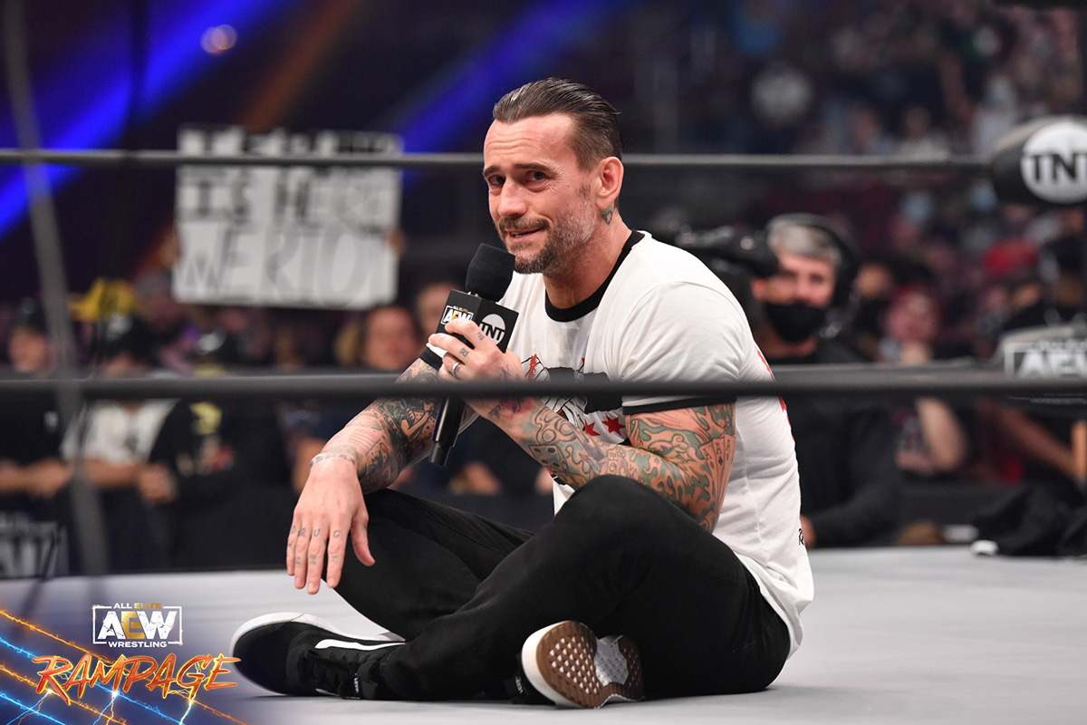 CM Punk signed his AEW contract 30 minutes before Rampage