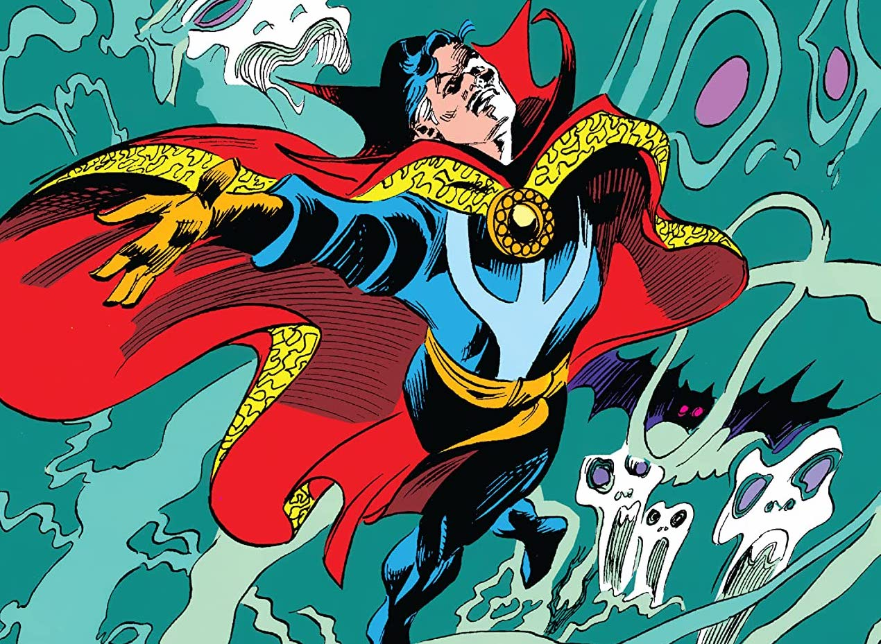 'Doctor Strange Epic Collection: The Vampiric Verses' manages to do its job, but just barely