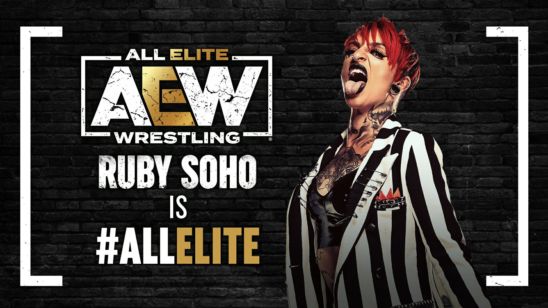 Ruby Soho signs with All Elite Wrestling
