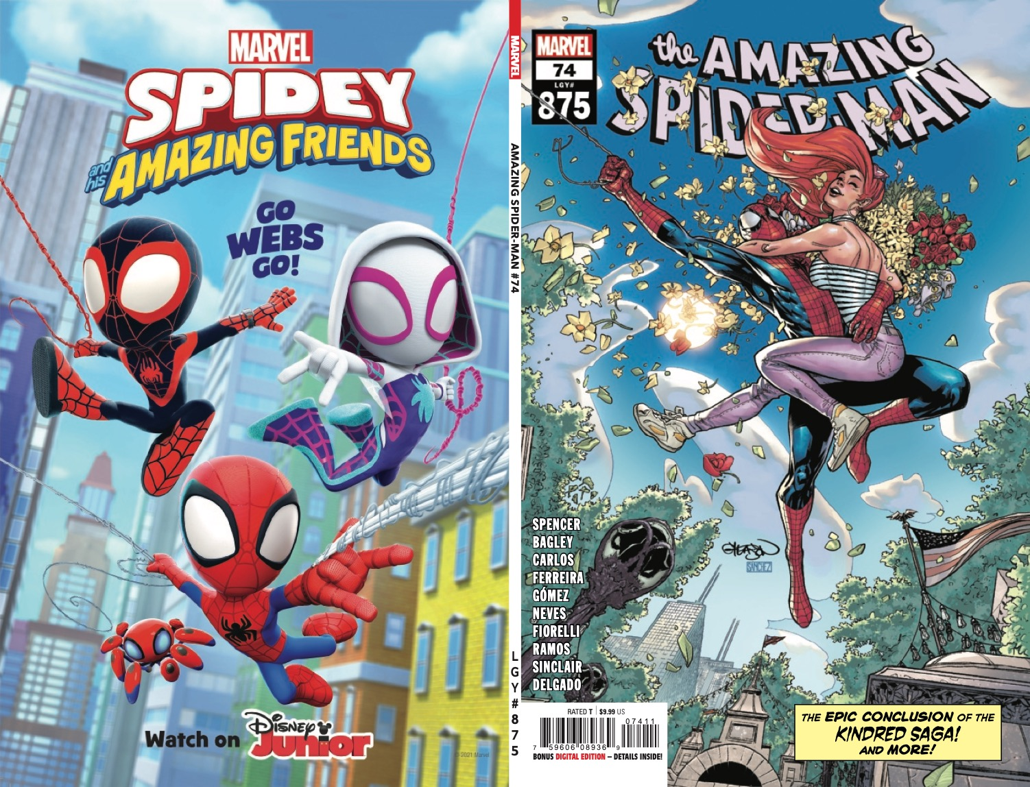 Marvel Preview: Amazing Spider-Man #74