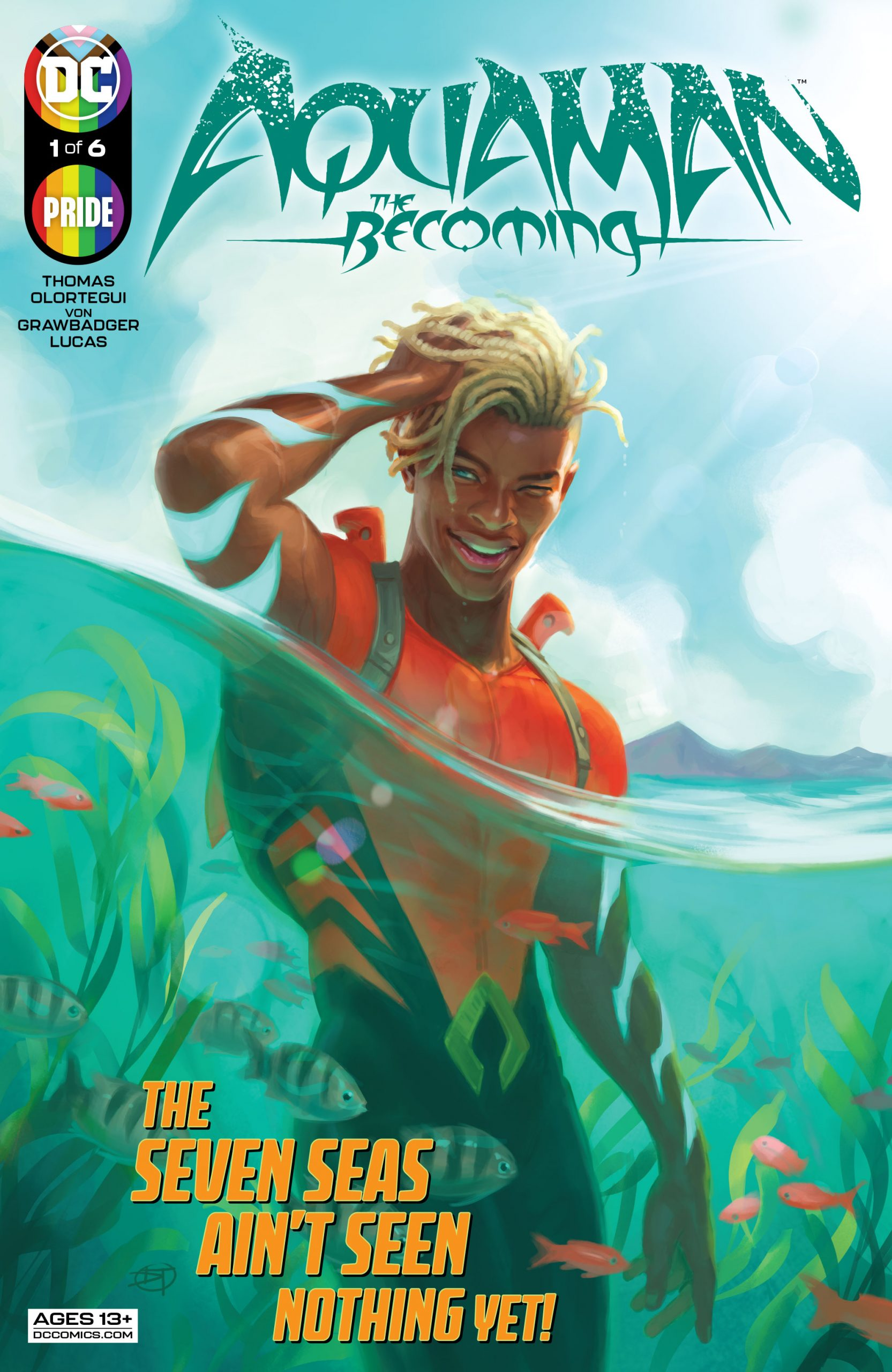 DC Preview: Aquaman: The Becoming #1