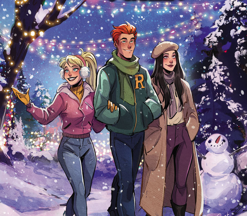 Archie Comics First Look: 'Archie's Holiday Magic Special' anthology