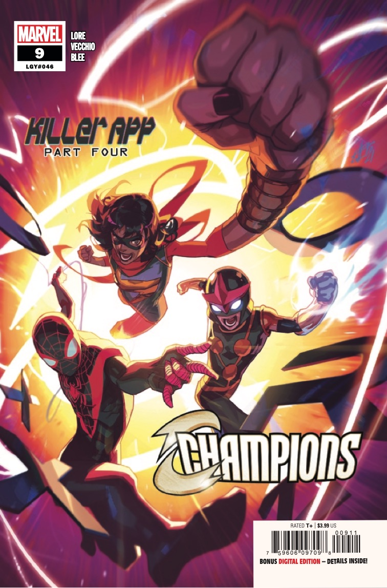 Marvel Preview: Champions #9