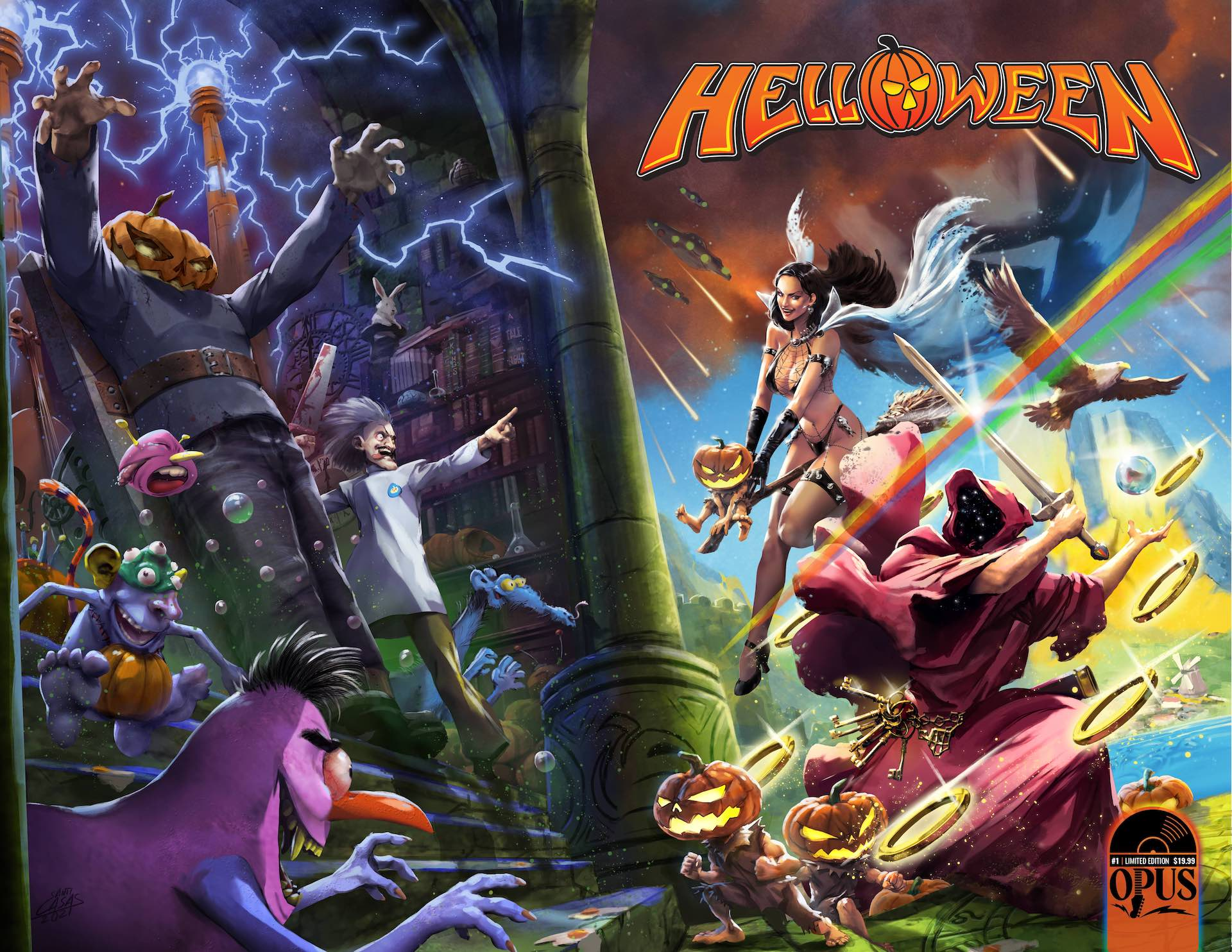 Helloween and Incendium team up for 'Seekers of the Seven Keys'