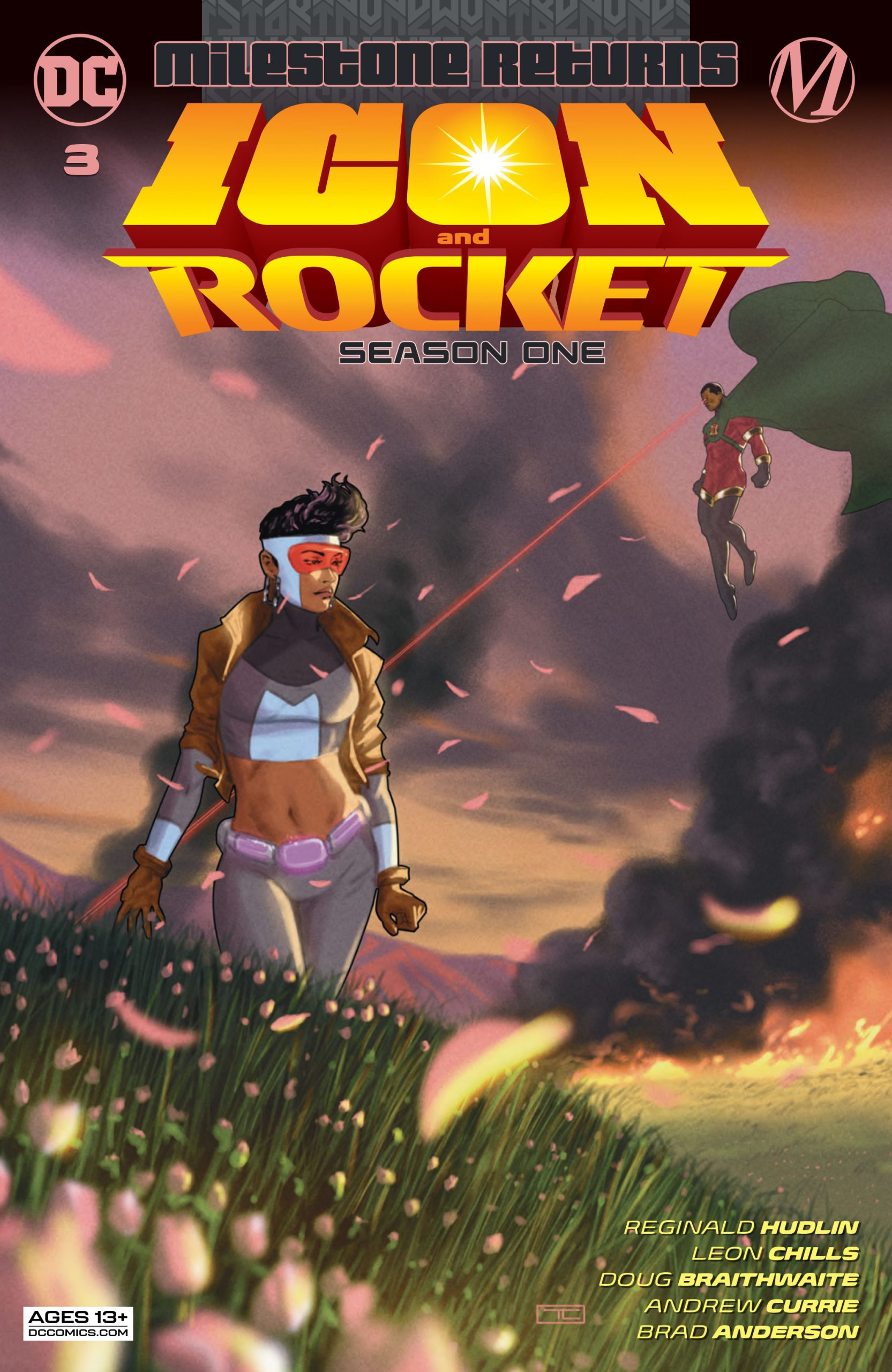 DC Preview: Icon and Rocket: Season One #3