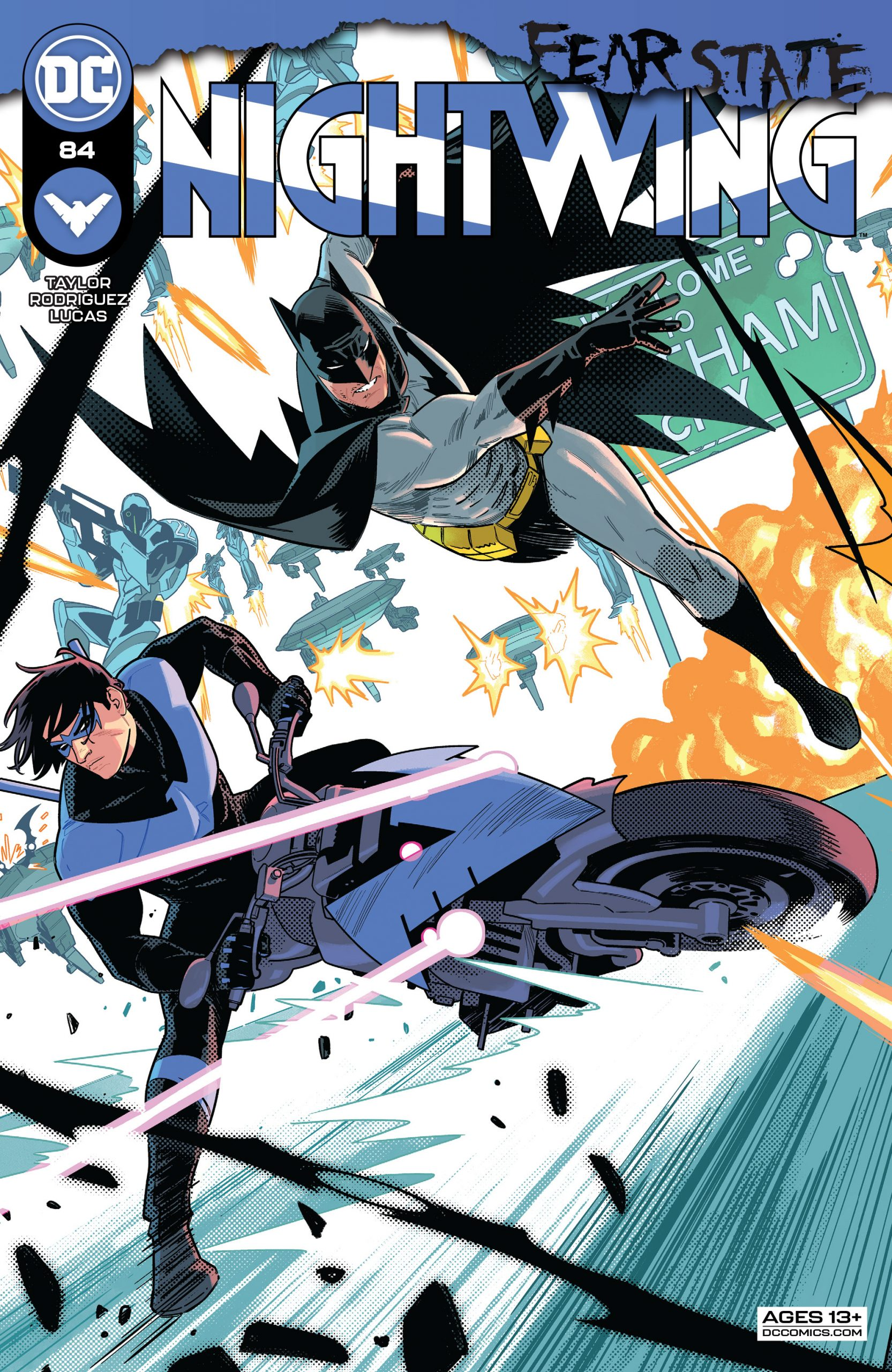 DC Preview: Nightwing #84
