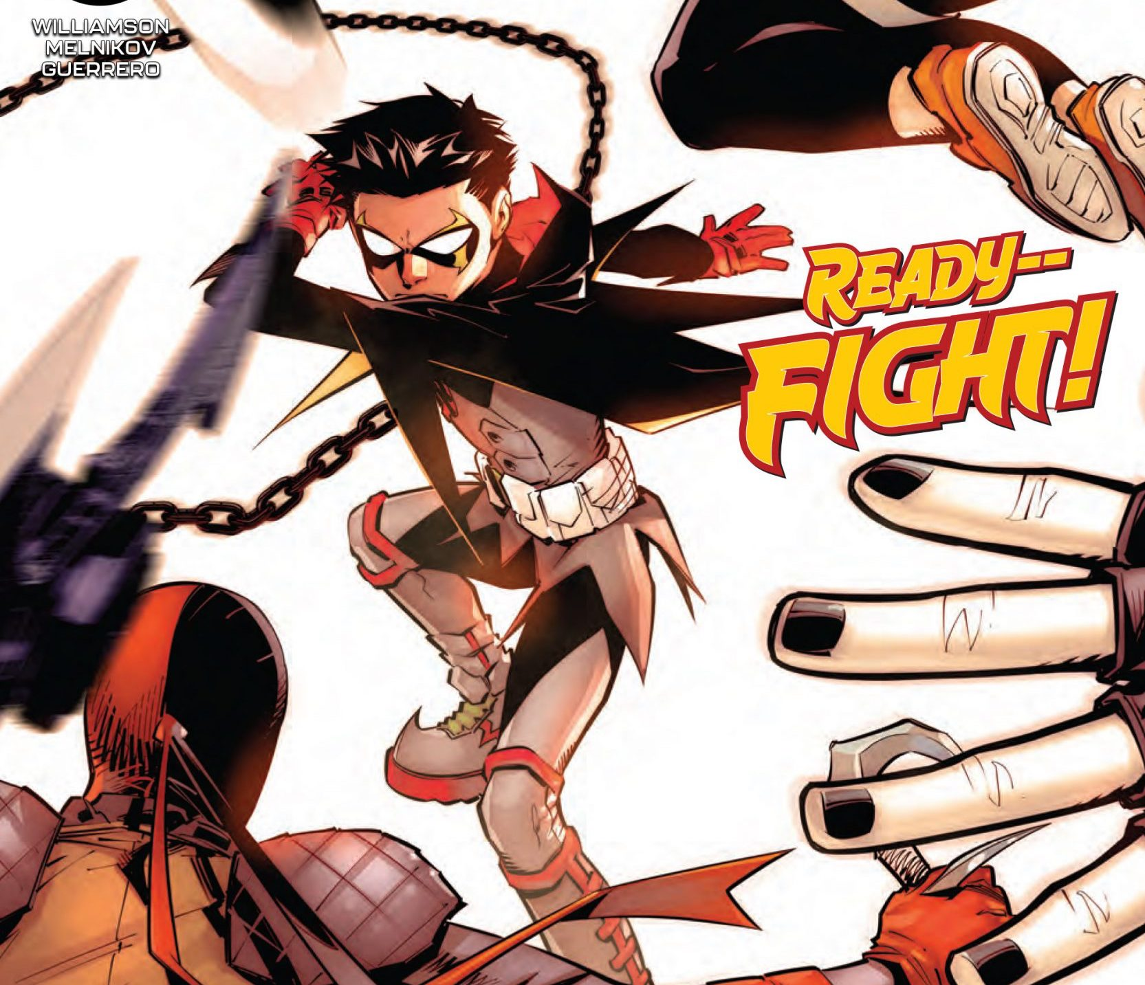 'Robin' #6 kicks off the first round of the Lazarus Tournament