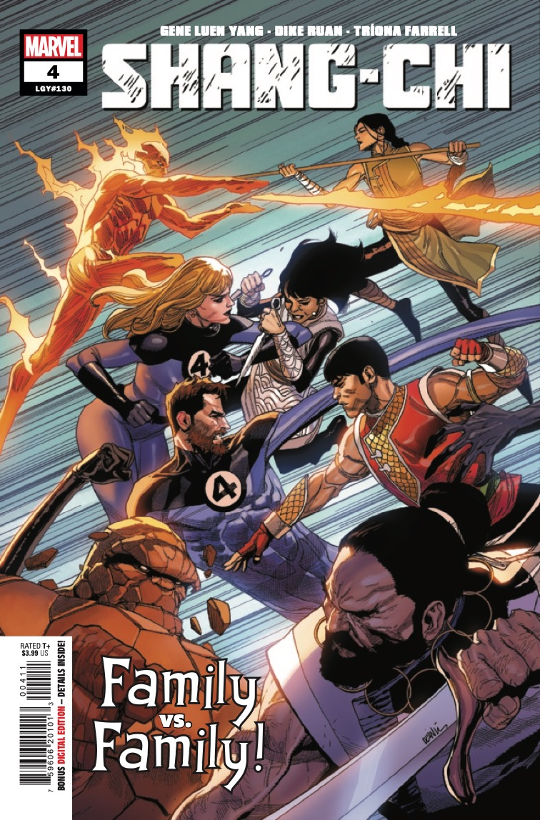 Marvel Preview: Shang-Chi #4
