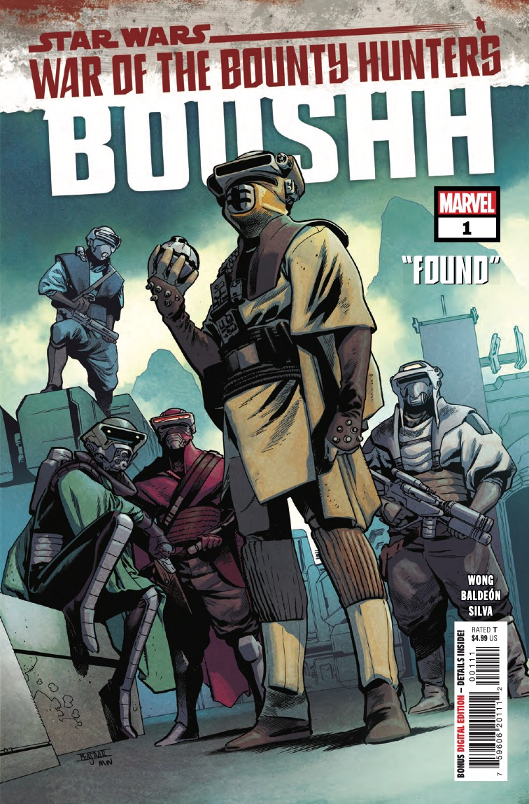 Marvel Preview: Star Wars: War of the Bounty Hunters - Boushh #1