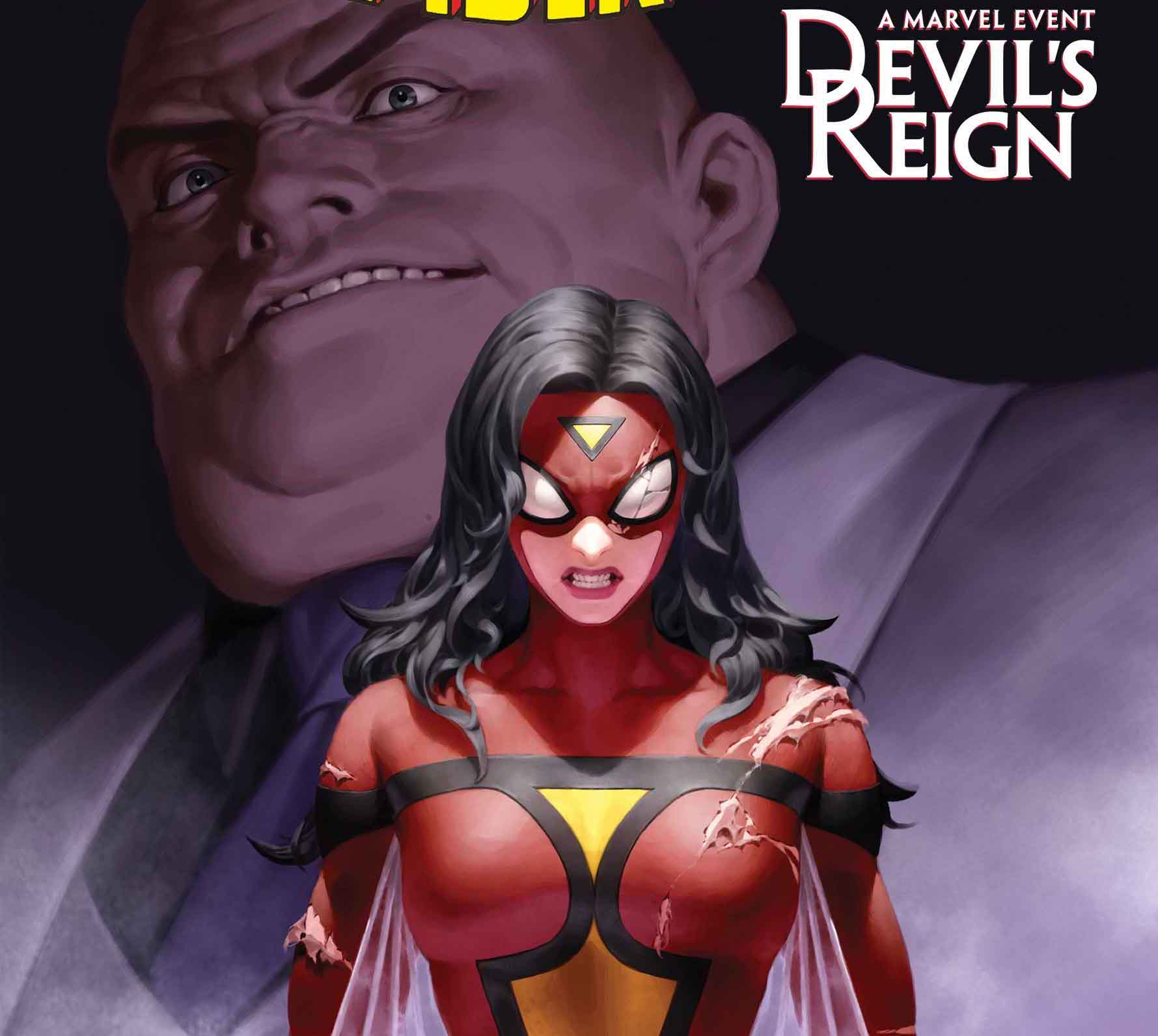 Marvel reveals 'Devil's Reign' to crossover with 'Spider-Woman' #18