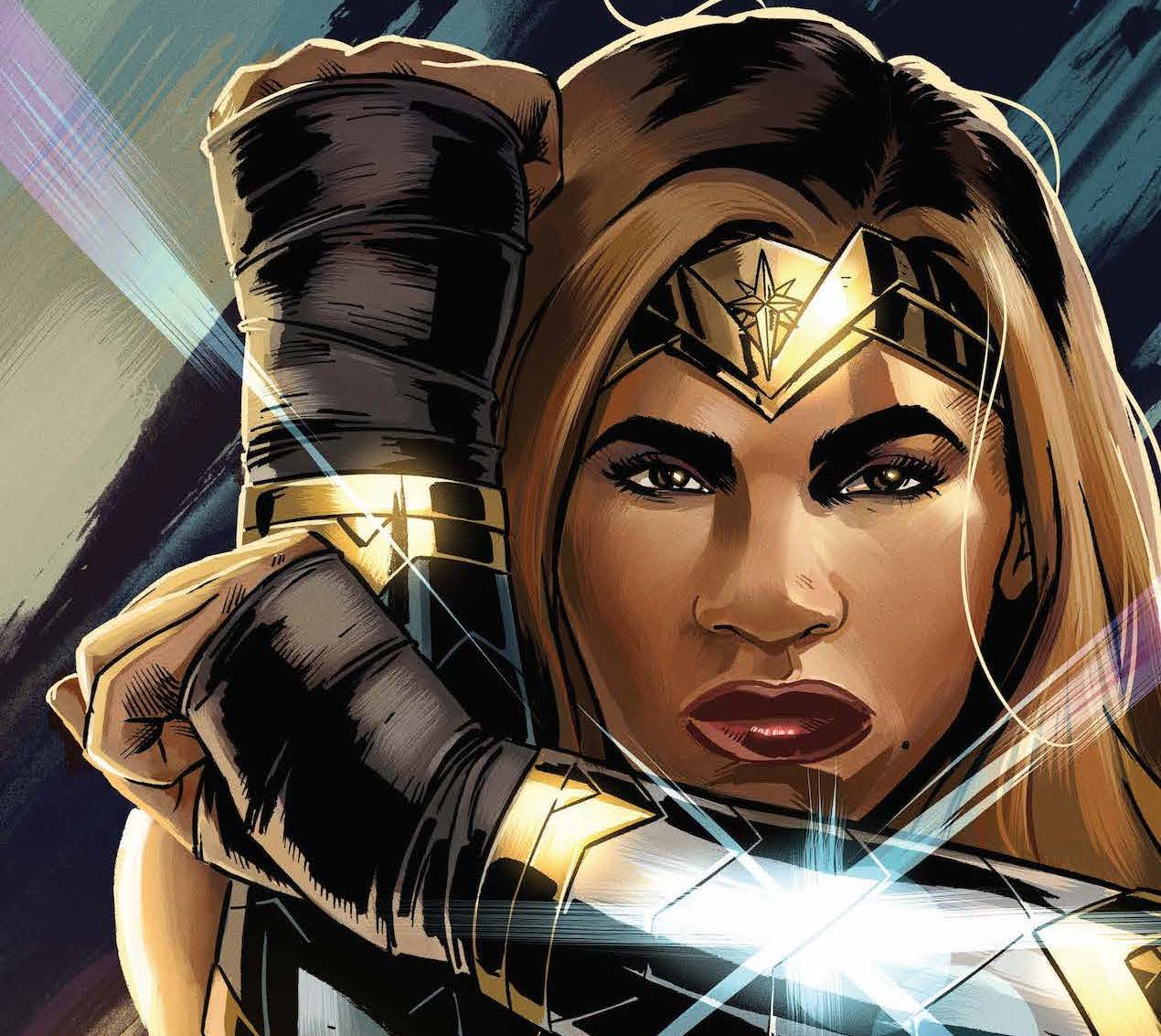 Serena Williams and Wonder Woman team up in new digital comic 'Serving Up Justice'
