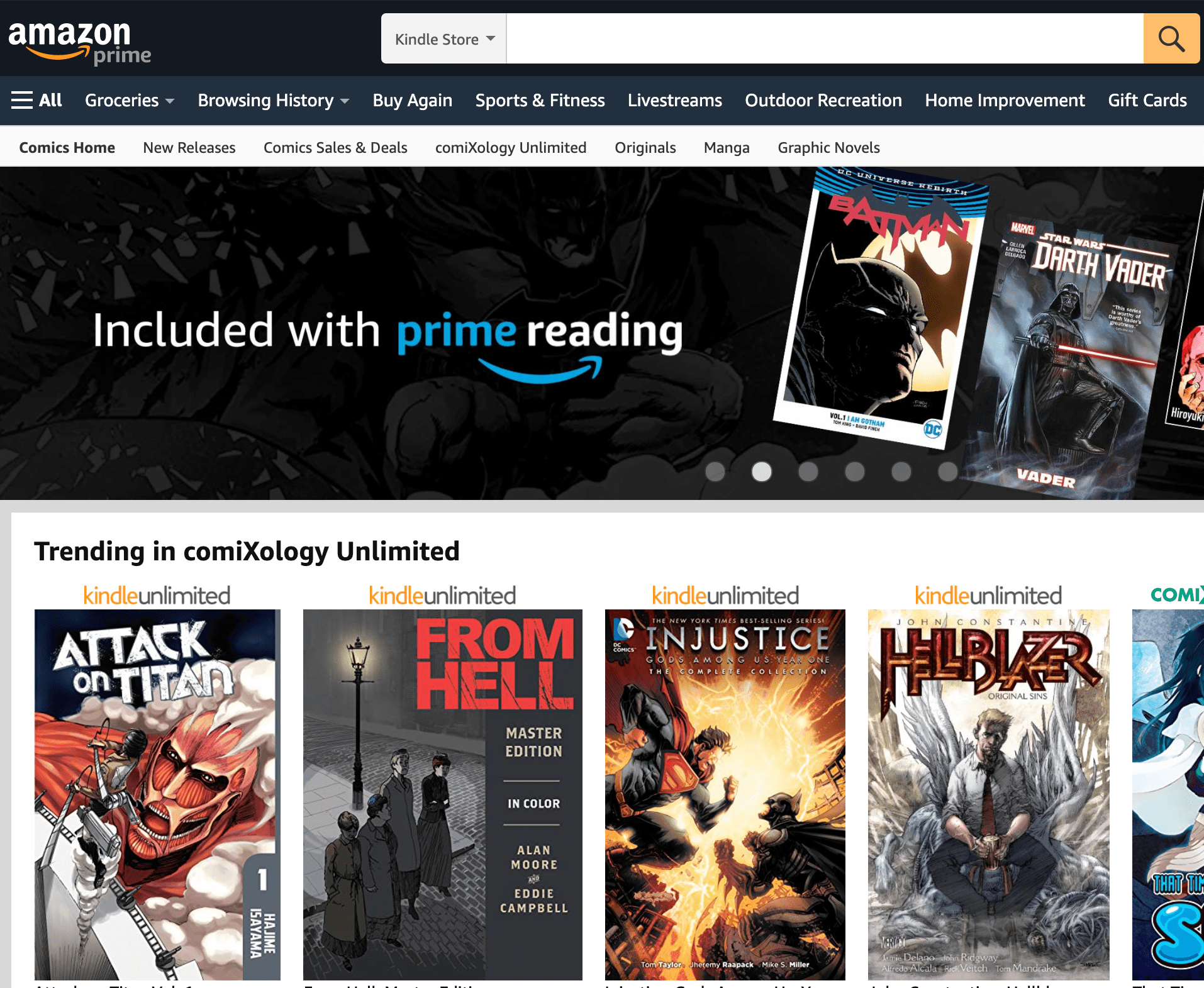 ComiXology revamps reading experience and moving to Amazon