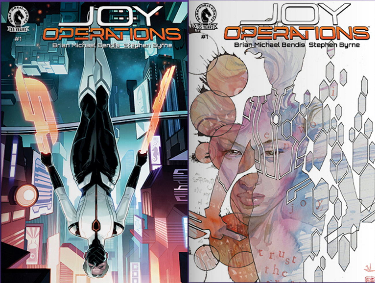 Stephen Byrne on building the sci-fi world of 'Joy Operations' with Brian Michael Bendis