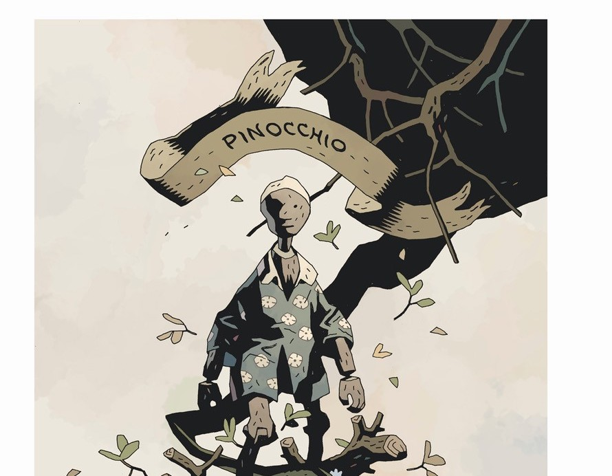 Beehive Books announces Mike Mignola Illustrated Edition of 'Pinocchio' for 2022