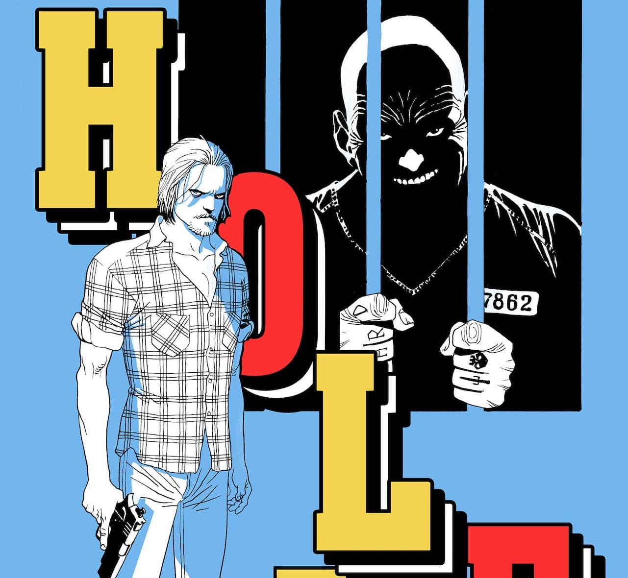 Eduardo Risso and Gerry Brown crafting illustrated Crime Novella 'Hole'