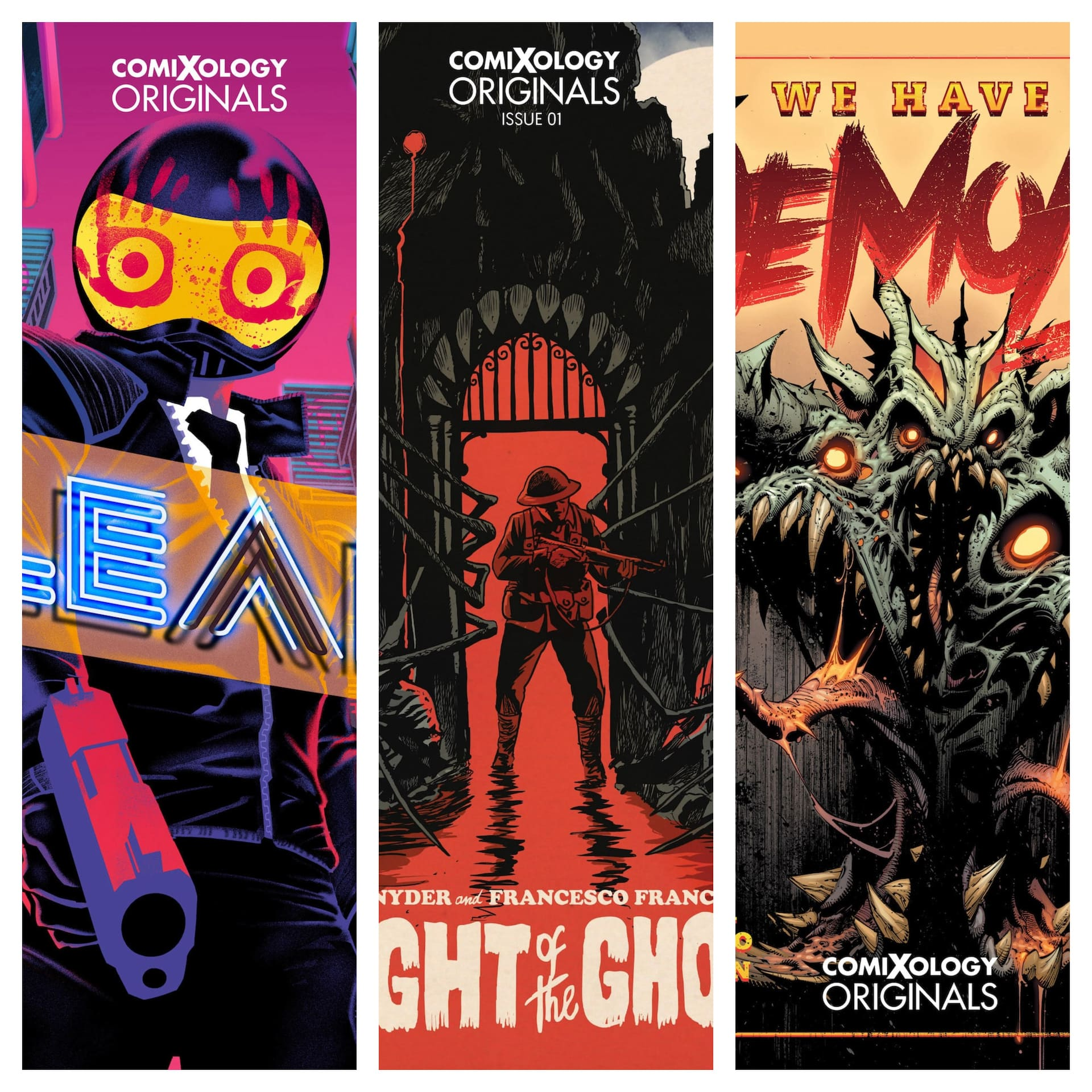 """ComiXology announces """"Scottober"""" with three Scott Snyder lead comics"""