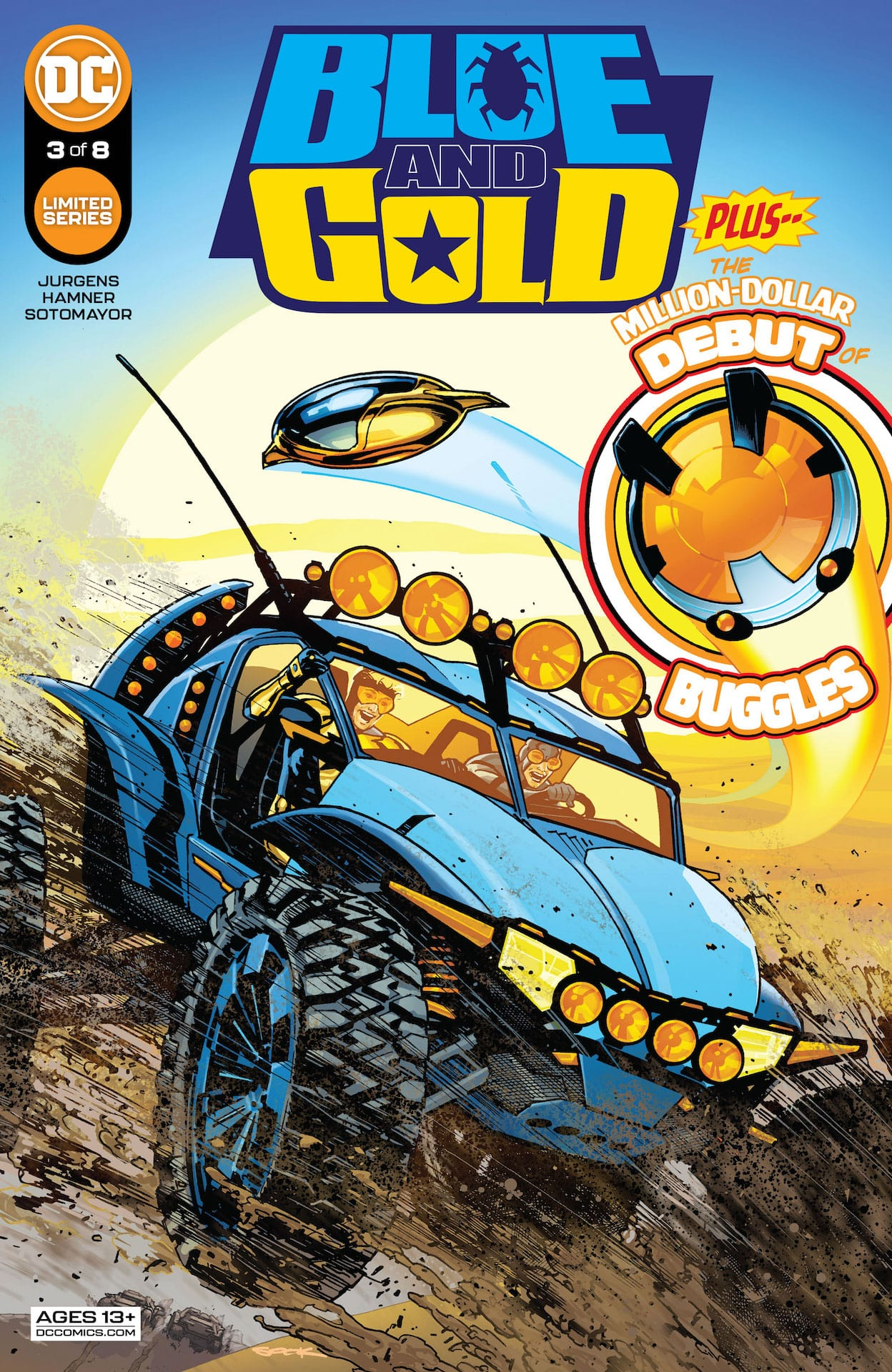 DC Preview: Blue & Gold #3