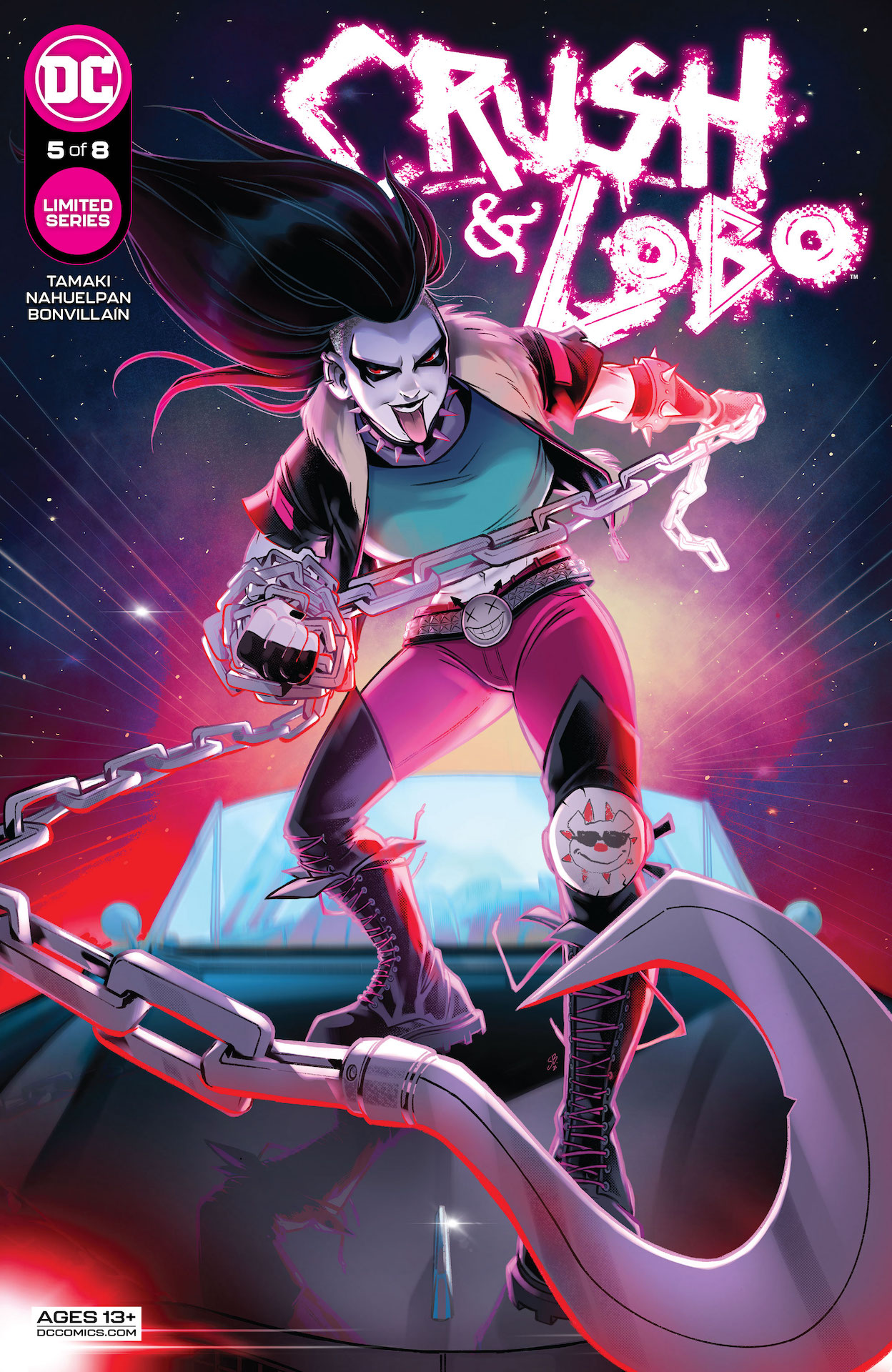 DC Preview: Crush and Lobo #5
