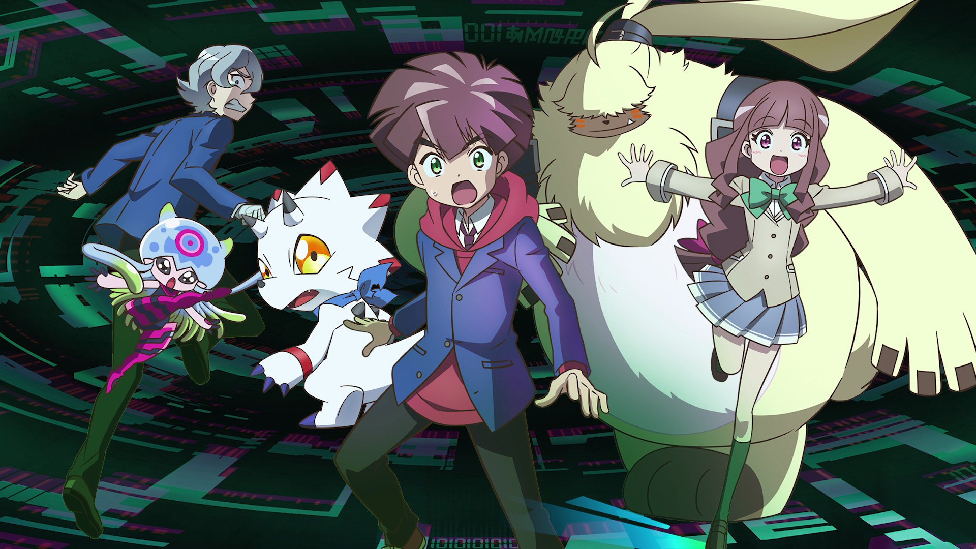 'Digimon Ghost Game' Episode 1 review - Aaahh!!! Digital Monsters