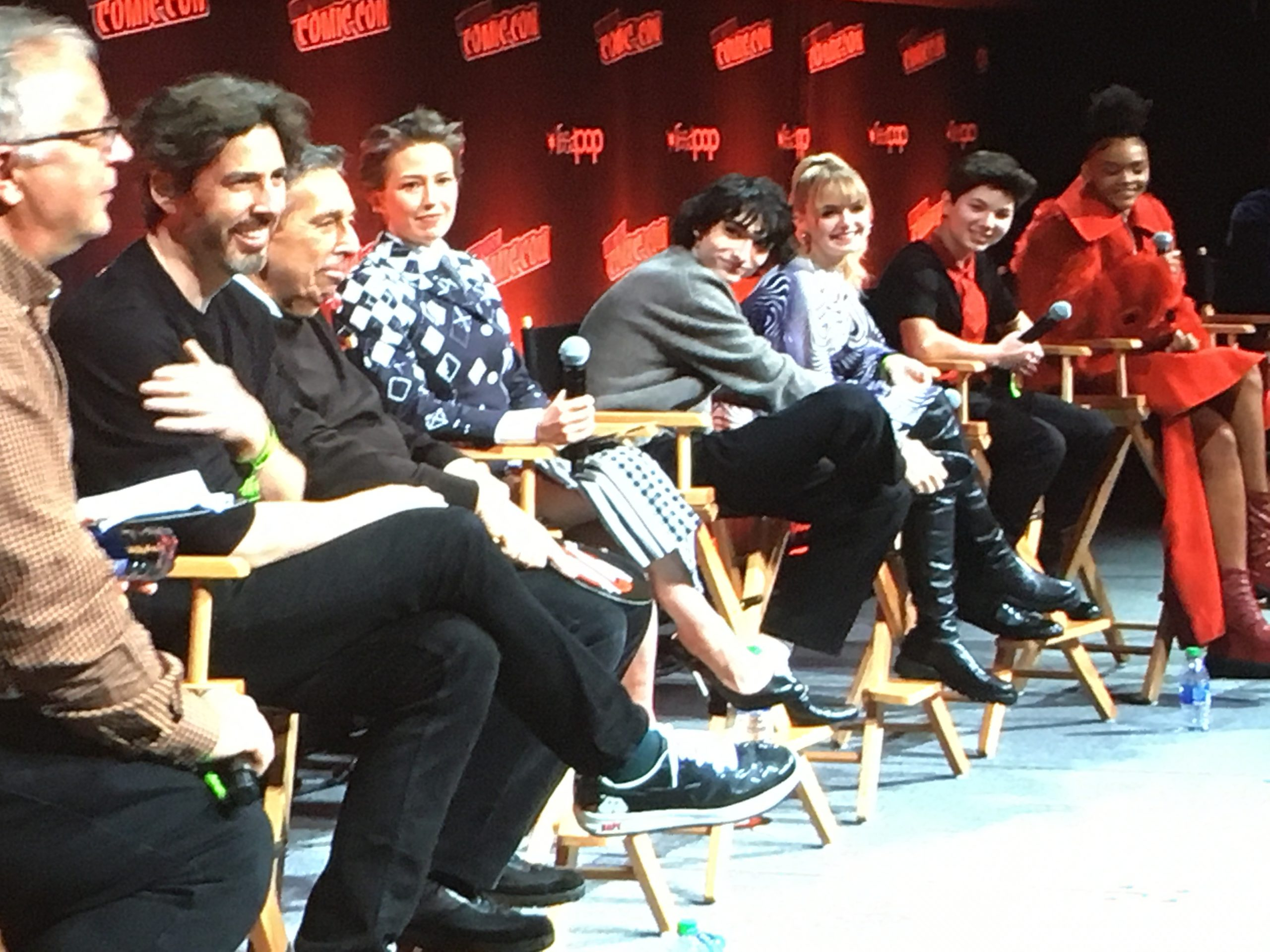 Surprise full screening of 'Ghostbusters: Afterlife' at NYCC '21