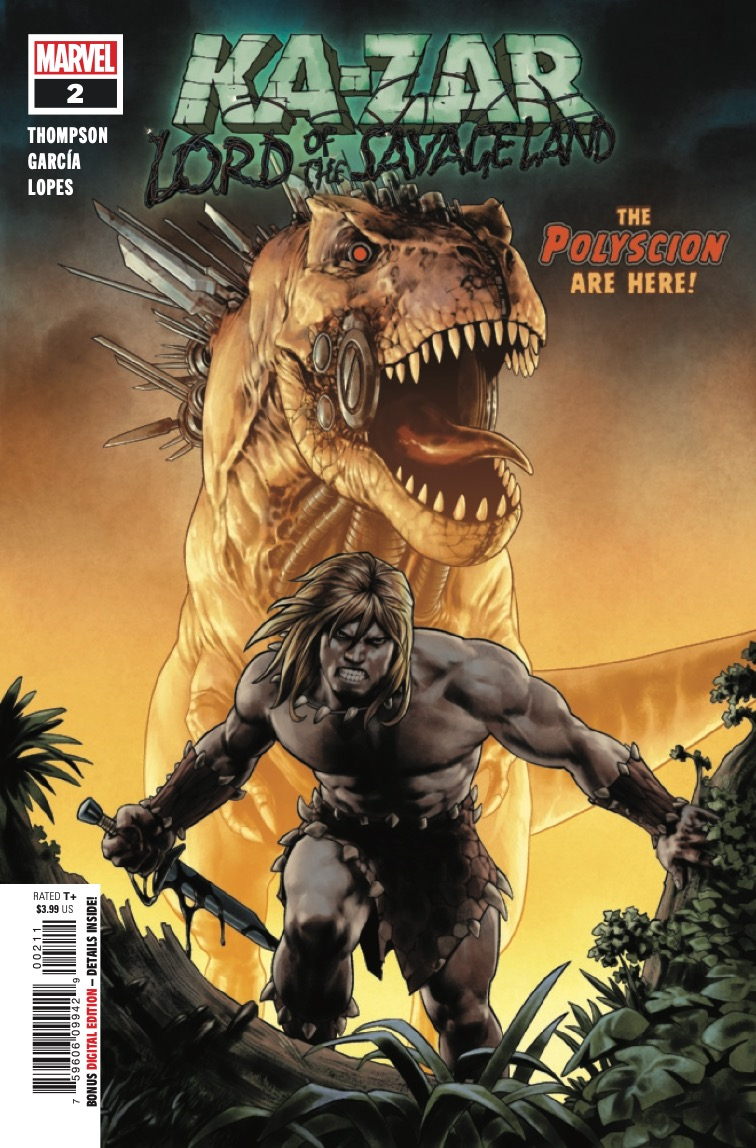 Marvel Preview: Ka-Zar: Lord of the Savage Land #2