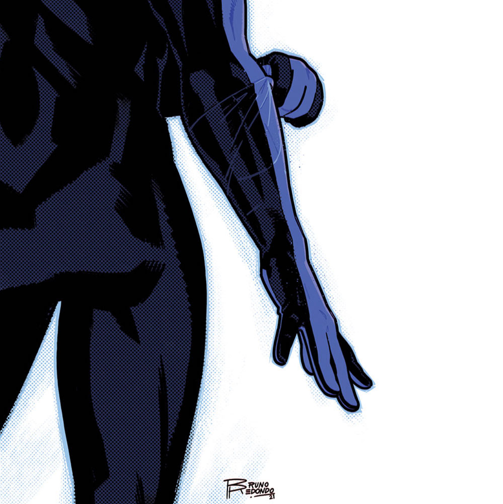 The blue stripes are back in 'Nightwing' #88