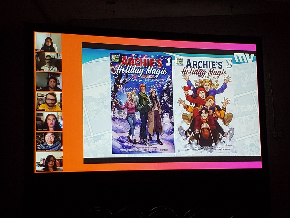 NYCC '21: Archie Comics announces new holiday anthologies from all-star creative teams