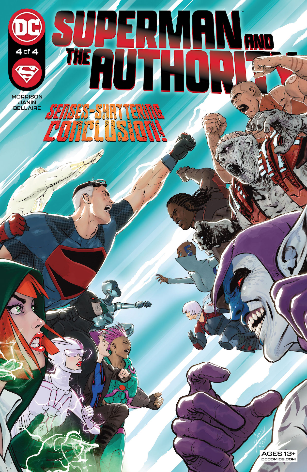 DC Preview: Superman And The Authority #4