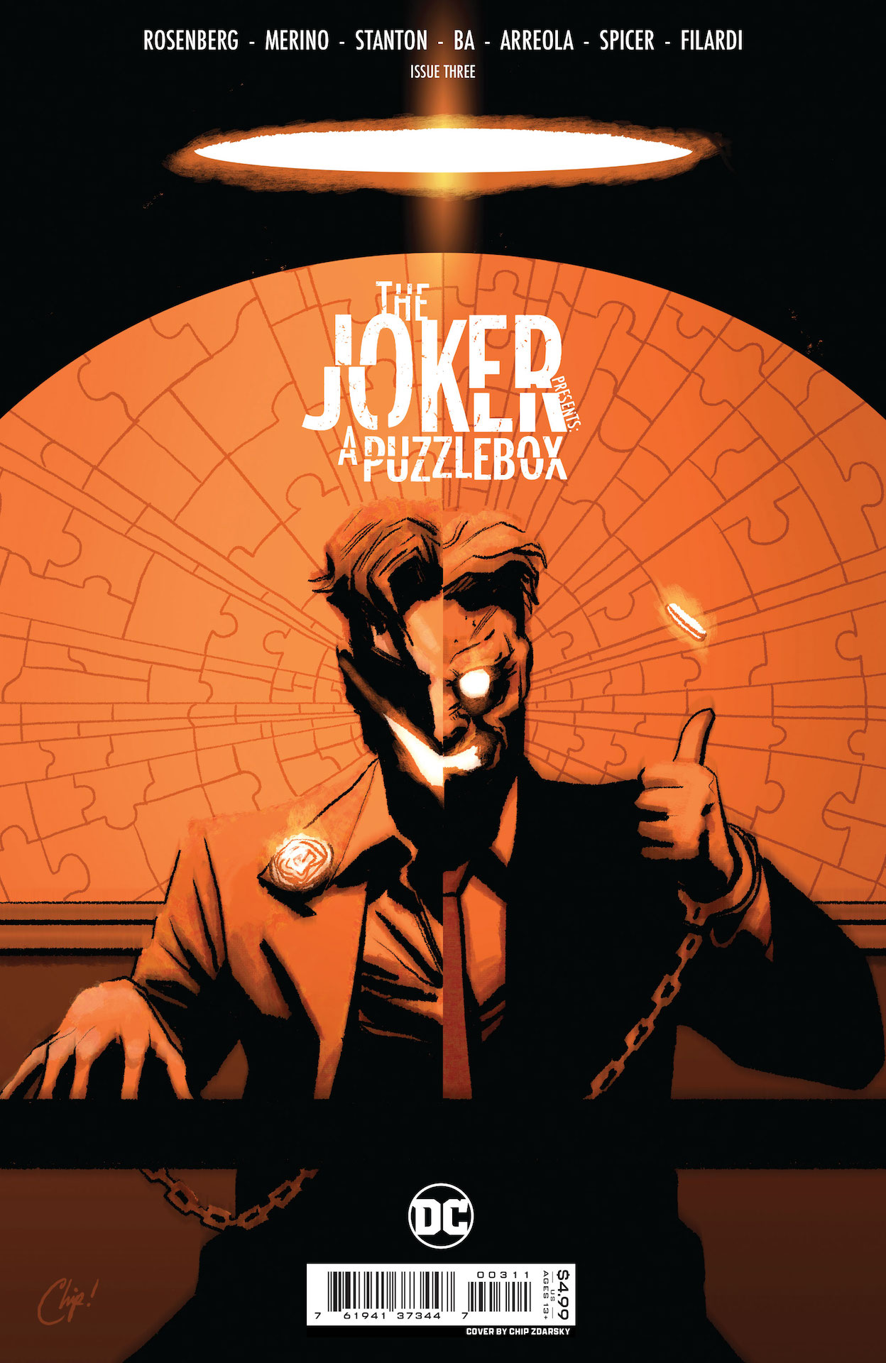 DC Preview: The Joker Presents A Puzzlebox #3