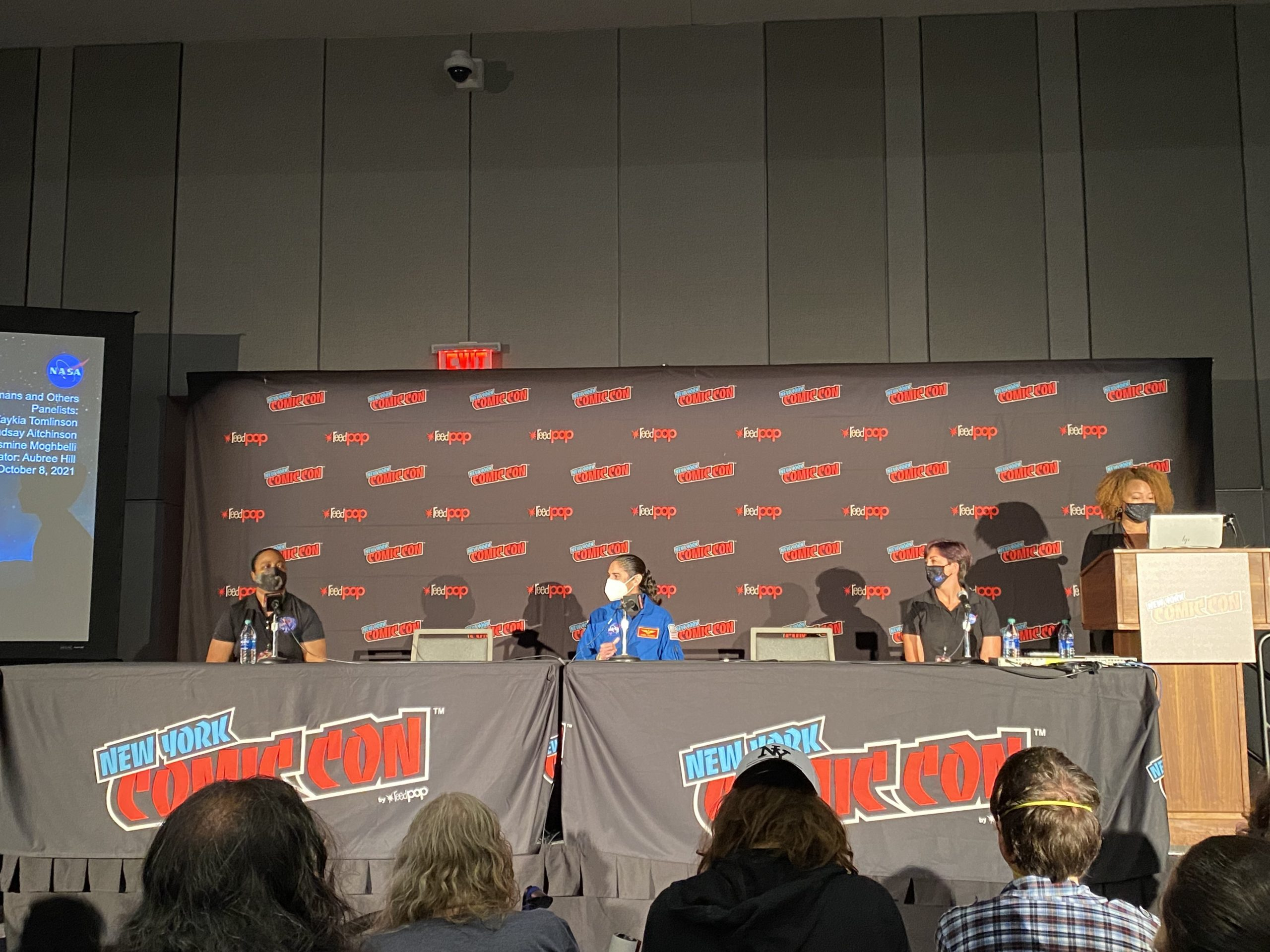 NYCC '21: NASA Space Technology panel details the one thing space movies always get wrong